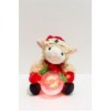 Новогодняя овечка с шаром