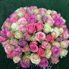 Ассорти из 101 голландскоя розы