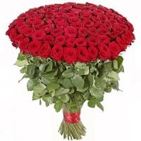 101 российская роза 50 см