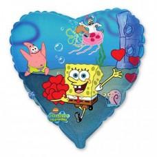 Сердце Спанч Боб