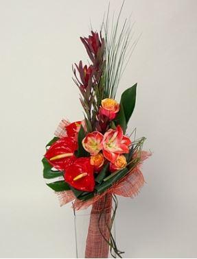 мужской букет цветов