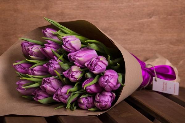 Цветы в бумаге