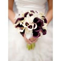 Свадебные букеты из калл | Долина Роз