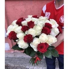 Букет из 37 эквадорских роз