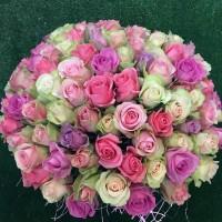 Ассорти из 101 голландской розы
