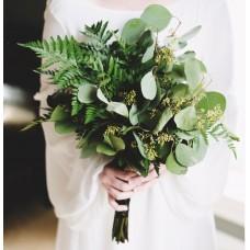 Тропический букет невесты