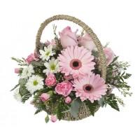 Корзина цветов с доставкой | Долина Роз