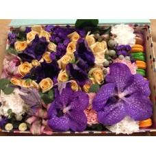 Большой Flowerbox с макарони