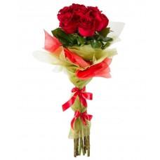 Шикарные красные розы