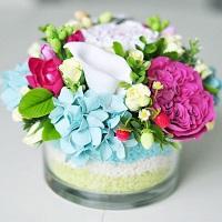 Красивые композиции из цветов | Долина Роз