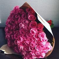 Большие букеты из роз | Долина Роз