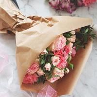 Правильная упаковка букета | Долина Роз