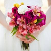 Свадебные букеты из альстромерий | Долина Роз