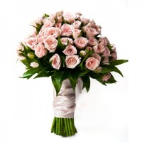Букет из кустовых роз | Долина Роз