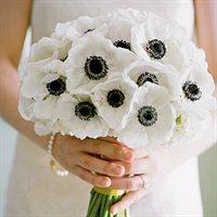 Букет невесты из анемонов | Долина Роз