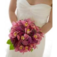 Свадебные букеты из орхидей | Долина Роз