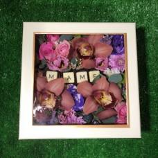 Flowerbox с орхидеями для мамы