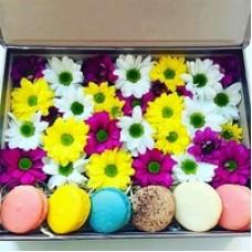 """Flowerbox """"Цветные ромашки"""""""