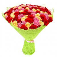 101 премиум роза Эквадор