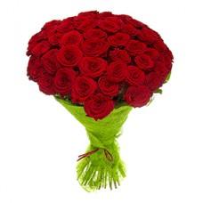 Купить 51 российскую розу