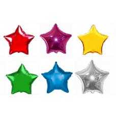 Фольгированная звезда