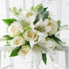 Нежный свадебный с лилей