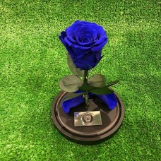 """Роза в колбе №2 """"Синяя"""""""